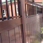 Modern Vinyl Fence Lattice Fence